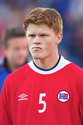 OSLO, NORWAY - Wednesday, September 5, 2001: Norway's John Arne Riise during the FIFA World Cup 2002 Qualifying Group 5 match against Wales at the Ullevaal Stadion. (Pic by David Rawcliffe/Propaganda)