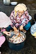 Crab market. Kep, Cambodia