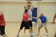 DESCRIZIONE : Roma Centro Sportivo Coni Acqua Acetosa Raduno Collegiale Nazionale Italiana Maschile Allenamento<br /> GIOCATORE : Luca Dalmonte Luca Vitali<br /> SQUADRA : Nazionale Italia Uomini <br /> EVENTO : Raduno Collegiale Nazionale Italiana Maschile <br /> GARA : Allenamento<br /> DATA : 29/07/2010 <br /> CATEGORIA : ritratto<br /> SPORT : Pallacanestro <br /> AUTORE : Agenzia Ciamillo-Castoria/GiulioCiamillo<br /> Galleria : Fip Nazionali 2010 <br /> Fotonotizia : Roma Centro Sportivo Coni Acqua Acetosa Raduno Collegiale Nazionale Italiana Maschile Allenamento<br /> Predefinita :
