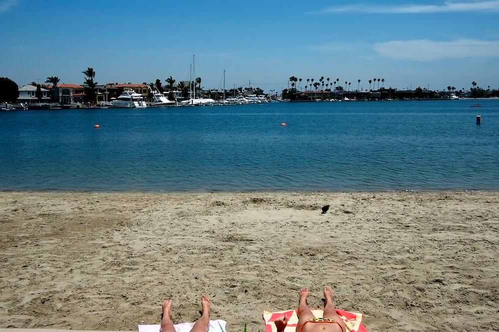 Sunbathers, Naples. Long Beach, CA
