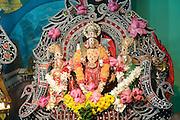 Shrine at a Hindu Kovil (temple) in Batticaloa.