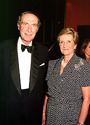 LORD & LADY FAIRHAVEN at a film premier on 26th August 1998.MJL 57