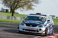 #1 Martin JAMES Honda Civic Type R  during Cartek Club Enduro Championship as part of the 750 Motor Club at Oulton Park, Little Budworth, Cheshire, United Kingdom. April 14 2018. World Copyright Peter Taylor/PSP.