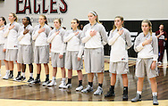 November 30, 2015: The St. Gregory's University Cavaliers play against the Oklahoma Christian University Lady Eagles in the Eagles Nest on the campus of Oklahoma Christian University.