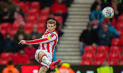 STOKE-ON-TRENT, ENGLAND - Saturday, January 25, 2020: Stoke City's James McClean during the Football League Championship match between Stoke City FC and Swansea City FC at the Britannia Stadium. (Pic by David Rawcliffe/Propaganda)