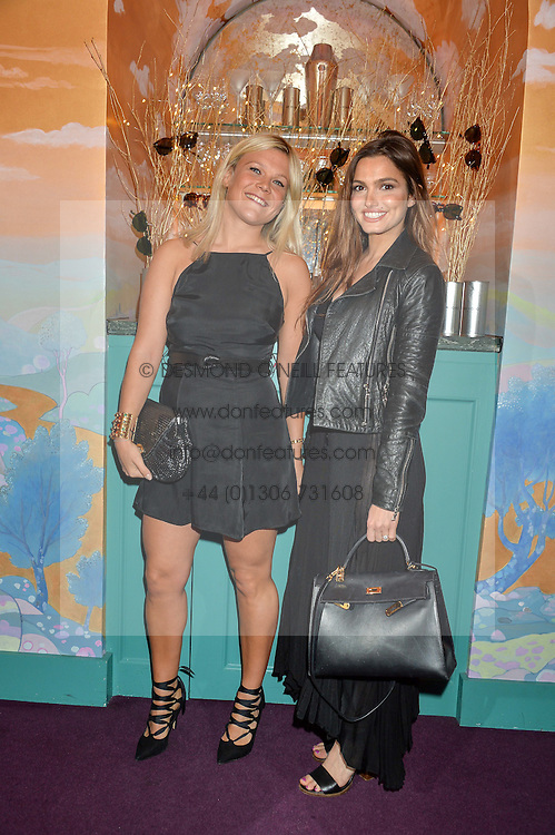 Left to right, OLIVIA PERRY and SOPHIE MIRANDA at a party for the UK launch of Mr Boho held at Annabel's, 44 Berkeley Square, London on 19th May 2016.