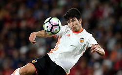 Carlos Soler of Valencia watches the ball - Mandatory by-line: Robbie Stephenson/JMP - 03/08/2016 - FOOTBALL - Vitality Stadium - Bournemouth, England - AFC Bournemouth v Valencia - Pre-season friendly