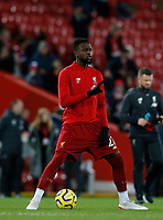 Football - 2019 / 2020 Premier League - Liverpool vs. Everton<br /> <br /> Divock Origi of Liverpool starts for tonight's game, at Anfield.<br /> <br /> COLORSPORT/ALAN MARTIN