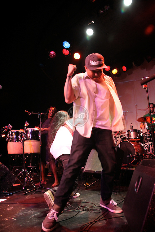 Geo with Kore Ionz at Summerfest 12 at the Showbox.