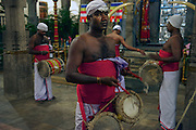 Ceremony at Temple of the Tooth, Kandy.