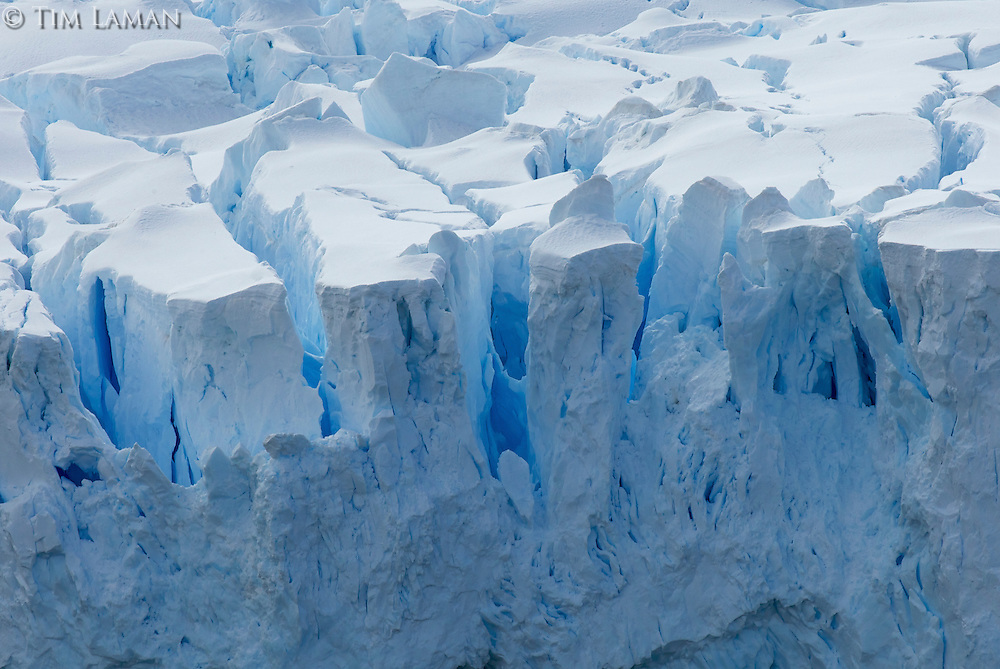 Close-up of an iceberg in Andvord Bay.