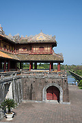Ngo Mon Gate with Five Phoenix Watchtower above, Hue Citadel / Imperial City, Hue, Vietnam