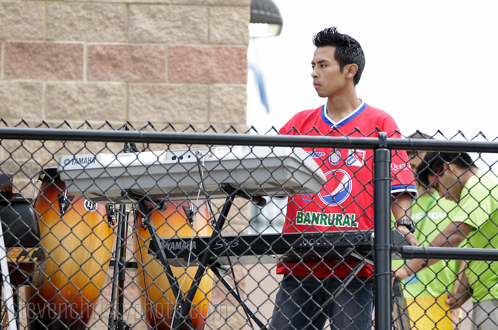 August 27, 2016: Xelaju Jr. and Leones Negros play a youth exhibition match prior to the OKC Energy FC match at Taft Stadium in Oklahoma City, Oklahoma.
