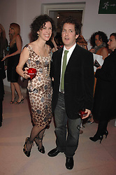 MOLLIE DENT-BROCKLEHURST and TOM HOLLANDER at the Art Plus Drama party Held at the Whitechapel Art Gallery, London E1 on 8th March 2007. <br />