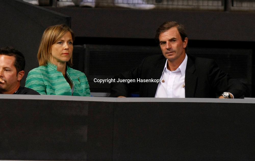 Porsche Tennis Grand Prix, WTA Tour, Damen Turnier in Stuttgart, ..Foto: Juergen Hasenkopf..