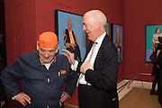 ROGER ZOGOLOVITCH; CHARLES SAUMERAZ SMITH, David Hockney RA: 82 Portraits and 1 Still-life. Royal Academy of Arts. Piccadilly. London. 28 June 2016