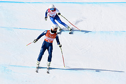 SANTACANA MAIZTEGUI Yon B2 ESP Guide: GALINDO GARCES Miguel competing in the Para Alpine Skiing Downhill at the PyeongChang2018 Winter Paralympic Games, South Korea