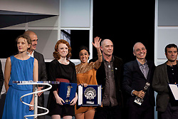 All award winners on stage during the Sebastian Film Festival, September 29, 2012. Photo By Nacho Lopez / DyD Fotografos / i-Images..SPAIN OUT