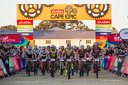 UCI Mens set off for stage 1 of the 2017 Absa Cape Epic Mountain Bike stage race held from Hermanus High School in Hermanus, South Africa on the 20th March 2017<br /> <br /> Photo by Sam Clark/Cape Epic/SPORTZPICS<br /> <br /> PLEASE ENSURE THE APPROPRIATE CREDIT IS GIVEN TO THE PHOTOGRAPHER AND SPORTZPICS ALONG WITH THE ABSA CAPE EPIC<br /> <br /> ace2016