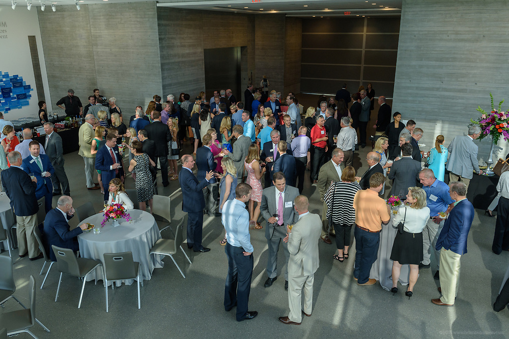 Guests at the 10-year anniversary celebration of Republic Bank's Private Banking and Business Banking divisions Wednesday, May 17, 2017, at the Speed Art Museum in Louisville, Ky. (Photo by Brian Bohannon)