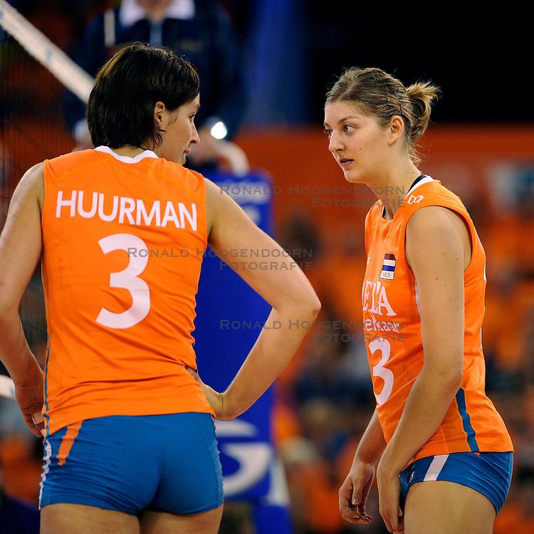 19-09-2009 VOLLEYBAL: DELA TROPHY NEDERLAND - TURKIJE: EINDHOVEN<br /> Nederland wint vrij eenvoudig van Turkije met 3-0 / Anne Buijs<br /> &copy;2009-WWW.FOTOHOOGENDOORN.NL
