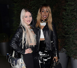 Glitter Beats -Tayla Richardson and Osayuki Vanessa Omo-Uwamere  attend LCM a/w 2015: Christopher Raeburn and Mens Health Party at The Sanderson Hotel, Berners Street, London on Saturday 10 January 2015