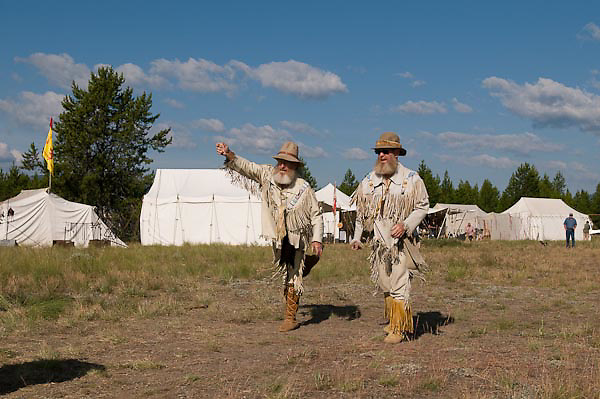 West Yellowstone, ID Rendezvous 2009 Mountain Men Rendezvous at West Yellowstone, MT Photographed by Shadow Catcher