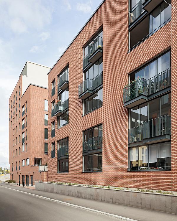 Kotisatama & Leonsatama apartments in Helsinki, Finland designed by Kirsti Siven & Asko Takala Architects