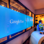 Google Fiber Space at Westport Road and State Line in Kansas City, Missouri prior to the roll-out of Google Fiber citywide in Kansas City, Missouri and Kansas City, Kansas.