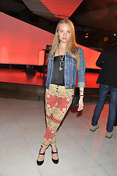 PETRA PALUMBO at the Vogue Festival Party 2013 in association with Vertu held at the Queen Elizabeth Hall, Southbank Centre, London SE1 on 27th April 2013.