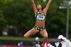 adidas Grand Prix Diamond League professional track & field meet: Tori POLK, USA, womens long jump