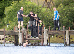 In the loch at Krav Island 2014, the 5th annual Krav Island event organised by the Institute of Krav Maga Scotland, which took place on Inchmurrin island, Loch Lomond.