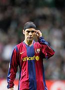 Rafael Marquez of Barca. Celtic v Barcelona, Uefa Champions League, Knockout phase, Celtic Park, Glasgow, Scotland. 20th February 2008.