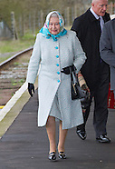 Queen Elizabeth Begins Christmas Holidays
