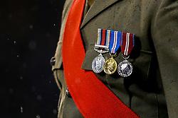A serviceman's medals - Mandatory by-line: Robbie Stephenson/JMP - 09/11/2018 - FOOTBALL - Bramall Lane - Sheffield, England - Sheffield United v Sheffield Wednesday - Sky Bet Championship