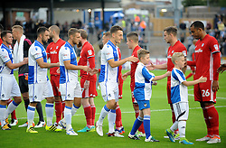 - Mandatory by-line: Neil Brookman/JMP - 11/08/2016 - FOOTBALL - Memorial Stadium - Bristol, England - Bristol Rovers v Cardiff City - EFL League Cup