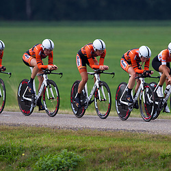 Boels Rental Ladiestour 2013 Team Time Trail Coevorden Boels-Dolmans CT