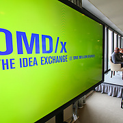 OMD/x program at JP Morgan Chase building in Chicago, Ill. Friday, Feb. 20, 2015.