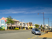 A view along Tay Street, Invercargill, New Zealand