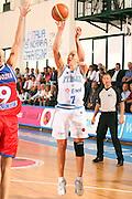 DESCRIZIONE : Chieti Italy Italia Eurobasket Women 2007 Italia Russia Italy Russia<br /> GIOCATORE : Francesca Zara<br /> SQUADRA : Italia Italy<br /> EVENTO : Eurobasket Women 2007 Campionati Europei Donne 2007<br /> GARA : Italia Russia Italy Russia<br /> DATA : 24/09/2007<br /> CATEGORIA : Tiro<br /> SPORT : Pallacanestro <br /> AUTORE : Agenzia Ciamillo-Castoria/E.Castoria<br /> Galleria : Eurobasket Women 2007<br /> Fotonotizia : Chieti Italy Italia Eurobasket Women 2007 Italia Russia Italy Russia<br /> Predefinita :