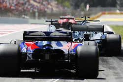 May 14, 2017 - Barcelona, Spain - Motorsports: FIA Formula One World Championship 2017, Grand Prix of Spain, .#77 Valtteri Bottas (FIN, Mercedes AMG Petronas F1 Team), #26 Daniil Kvyat (RUS, Scuderia Toro Rosso) (Credit Image: © Hoch Zwei via ZUMA Wire)