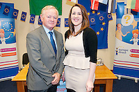 College student  Christina nic Dhonnacha from  An Trá Bháin, ,Leitir Móir, Co na Gaillimhe at the Regional Final of the 2012 Europe Direct Soapbox Competition at Westside Library in Galway and won second place with a prize of ? 200 euro presented by Jim Higgins MEP. .The Western Region heat was open to speakers of all ages from Galway, Mayo, Roscommon and Clare and entrants were given 3 minutes each on the soapbox at last night's event. The competition is run by Europe Direct  - an initiative launched in 2005 by the European Commission in partnership with the Library Council of Ireland to create a network of accessible, local information centres around Ireland. There are currently 8 Europe Direct Information Centres nationwide and the Galway centres are based in Carraroe and Ballinasloe. . November 2nd  2012.For further press information or to arrange an interview, please contact Siobhán Calpin @ Spotlight Communications on 0878527760.