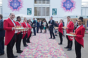 WAITERS, Preview party, Chelsea flower show. Royal Hospital Rd. London. 22 May 2017
