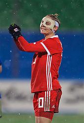 CESENA, ITALY - Tuesday, January 22, 2019: Wales' Jessica Fishlock looks dejected after the International Friendly between Italy and Wales at the Stadio Dino Manuzzi. Italy won 2-0. (Pic by David Rawcliffe/Propaganda)