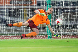 Matic Kotnik of Panionios GSS during 2nd Leg football match between ND Gorica (SLO) and Panionios GSS (GRE) in 2nd Qualifying Round of UEFA Europa League 2017/18, on July 20, 2017 in Nova Gorica, Slovenia. Photo by Vid Ponikvar / Sportida
