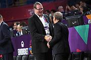 presidente federazione finalndese, Giovanni Petrucci<br /> Nazionale Italiana Maschile Senior<br /> Eurobasket 2017 - Final Phase - Round of 16<br /> Finlandia Italia Finland Italy<br /> FIP 2017<br /> Istanbul, 09/09/2017<br /> Foto M.Ceretti / Ciamillo - Castoria