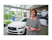Wednesday May 4 2016, Mindy Holman, Chairman of the Board at Holman Automotive, one of the nations largest car dealers, at the company's Maple Shade NJ headquarters. ED HILLE / Staff Photographer