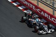 May 24, 2014: Monaco Grand Prix: Esteban Gutierrez (MEX), Sauber-Ferrari