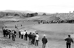 LPGA tourney at Round Hill CC..view of the 17th hole?<br />(1973 photo/Ron Riesterer)