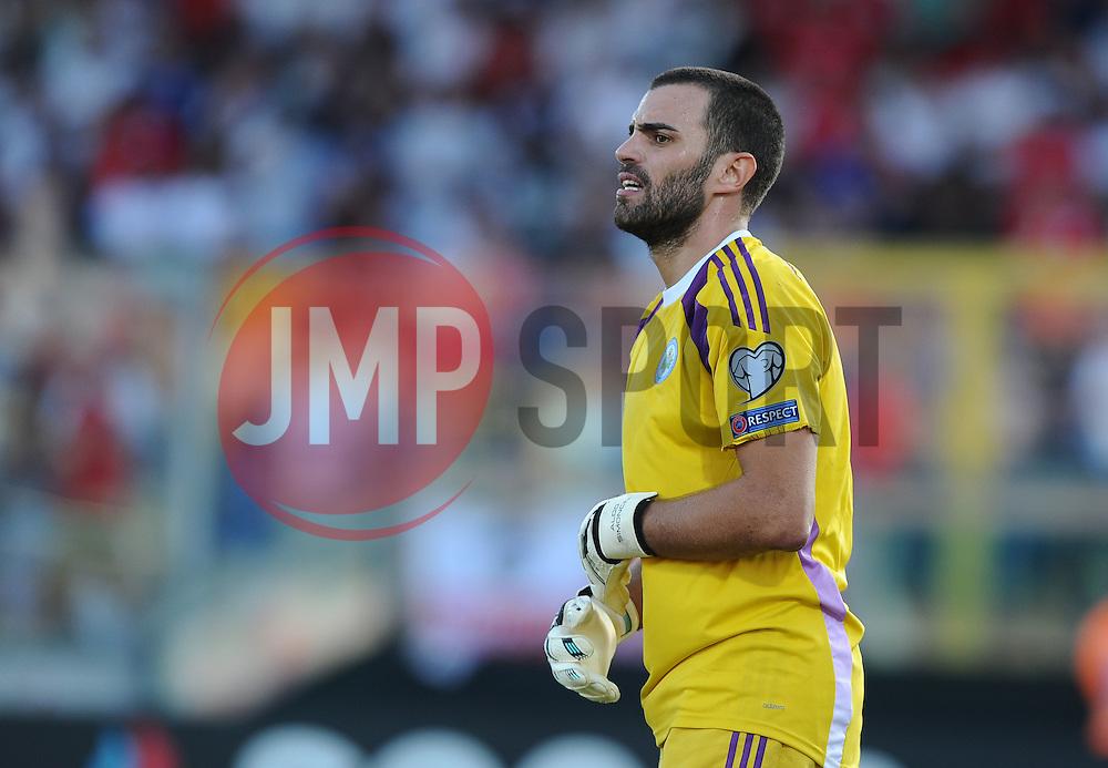 Aldo Junior Simoncini of San Marino (AC Libertas)  - Mandatory byline: Joe Meredith/JMP - 07966386802 - 05/09/2015 - FOOTBALL- INTERNATIONAL - San Marino Stadium - Serravalle - San Marino v England - UEFA EURO Qualifers Group Stage